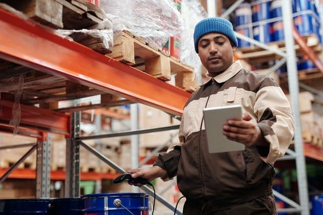 Employee in warehouse - workers' compensation